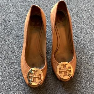 Tory Burch size 9 pre loved wedges